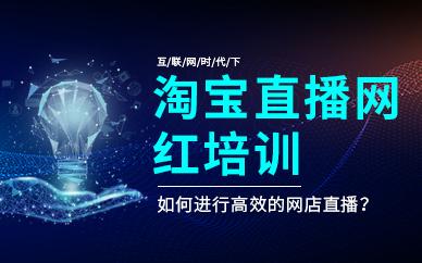 广州淘宝直播网红培训班