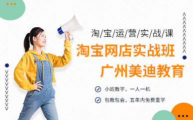 广州淘宝网店实战班