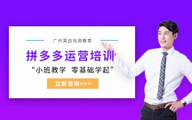 广州拼多多网店运营培训班