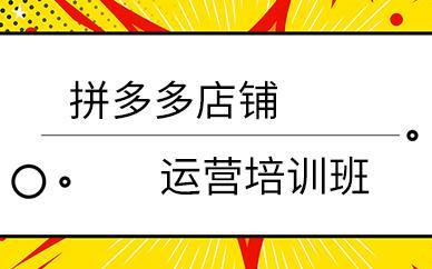 深圳拼多多店铺开店运营推广培训班