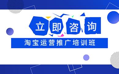 深圳淘宝网店运营推广学习培训班
