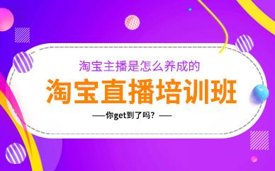 广州淘宝电商直播学习培训班