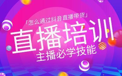 深圳抖音网红直播带货学习培训班