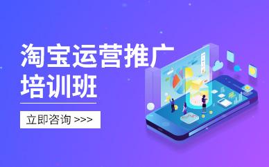 广州淘宝店铺运营推广高级培训班
