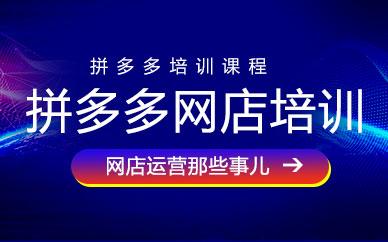 广州拼多多店长运营培训班