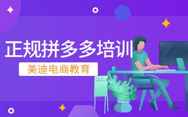 广州正规的拼多多运营培训班
