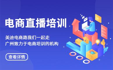 广州白云区电商直播培训班